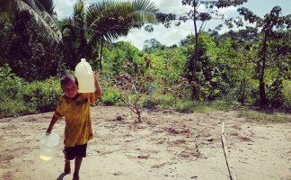 De l'eau potable en cadeau