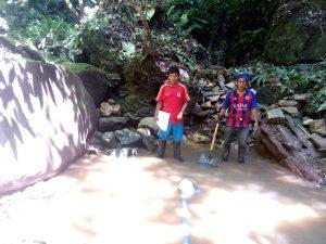 De l'eau à tout prix à Canuja