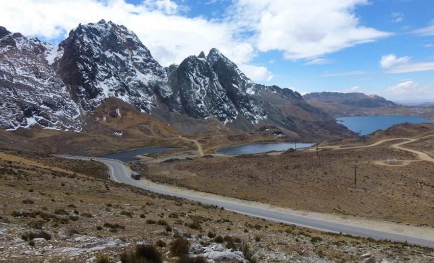 Le col Ticlio à 4818 m d'altitude
