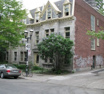 3702 Sainte-Famille, Montréal (premier bureau des Ailes)