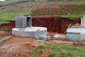 3. Salida de la linea de impulsión y entrada del agua