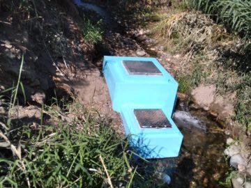 L'ouvrage de captage de l'eau
