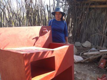 Un lavabo récemment construit
