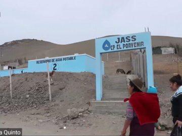 Le réservoir d'eau potable