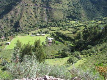 Le village de Manzanayoc