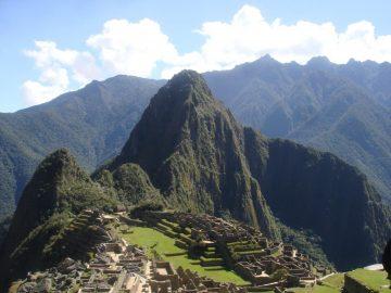 Le Machu Picchu, une des 7 Merveilles du Monde